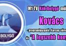 """Kovács Szilvia és """"A legszebb konyhakertek"""" országos program az M1 Kék Bolygó műsorában"""