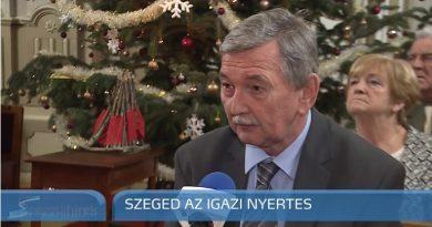 """Szeged –  Szeged Televízió híradó """"A legszebb konyhakertek"""" eredményhirdetés"""