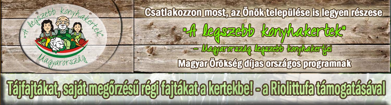 """""""A legszebb konyhakertek"""" – Magyarország legszebb konyhakertjei országos program"""