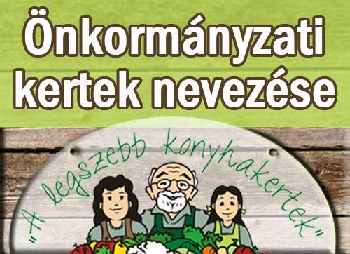 Önkormányzati kertek nevezése