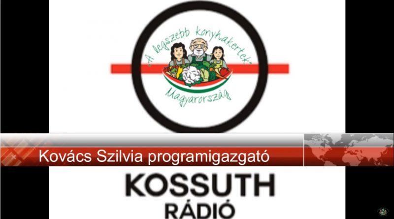 Kossuth Rádió, Hajnal-táj műsorban a Kertprogram