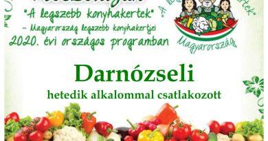 Darnózseli – Győr-Moson-Sopron megye negyedik 2020. évi csatlakozó települése