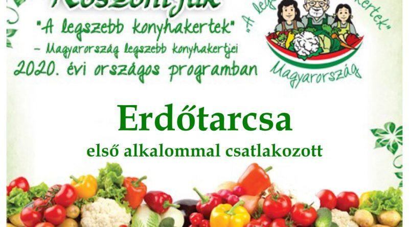 Erdőtarcsa – Nógrád megye negyedik 2020. évi csatlakozó települése
