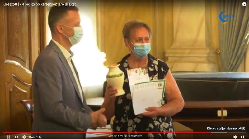 Gyula – Kiosztották a legszebb kerteknek járó díjakat