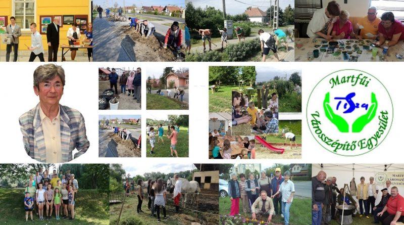 Martfű – Elismerés a Magyarország Legszebb Konyhakertje mozgalom martfűi résztvevőinek