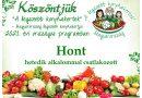 Hont – Nógrád megye második 2021. évi csatlakozó települése