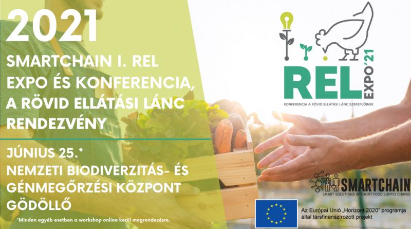 SMARTCHAIN I. REL Expo és konferencia a Rövid Ellátási Lánc rendezvény